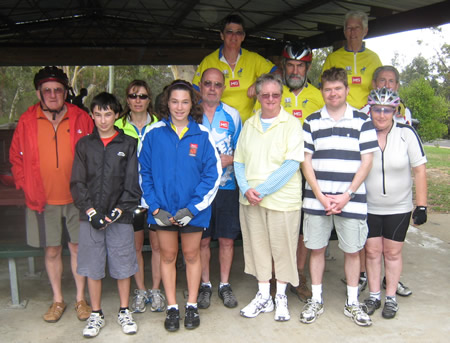 Group Photo at Nepean Picnic Area