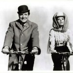 Patrick Mcnee & Diana Rigg Avenging by Bicycle