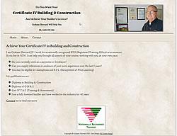 Certificate 4 Building