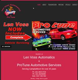 Len Voss Automatics & ProTune