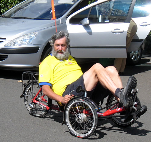 John on Kevin's Recumbant